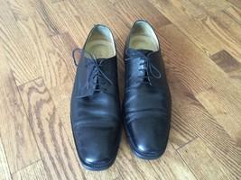 Men's Johnston & Murphy Signature Series Captoe Oxford Leather Shoes Siz... - $46.74