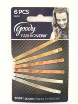 Goody Fashionow Textured Bobby Slides   6 Pcs. (06426) - $6.99
