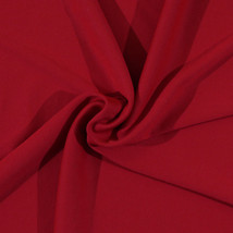Red Beefy Weight Activewear Wickaway Knit Polyester Lycra Fabric By Yard D339.03 - $9.95
