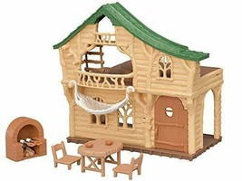 *Exciting log house U-Sylvanian Families forest -62 - $33.17