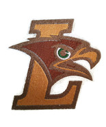 Lehigh Mountain Hawks Logo  Embroidered Iron On Patch - $4.99