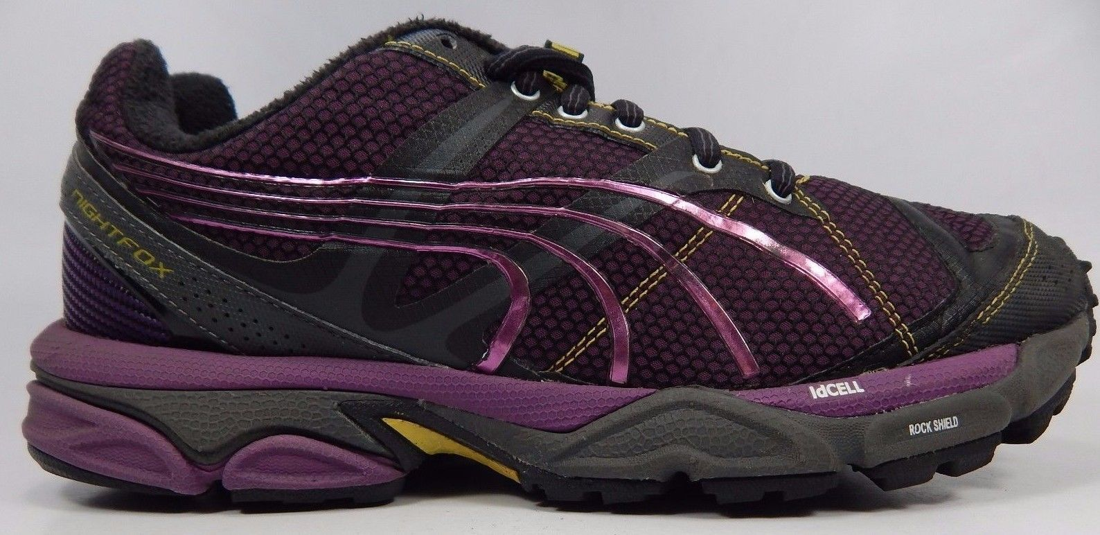 Puma NightFox TR Women's Trail Running Shoes Size US 9 M (B) EU 40 Black Purple