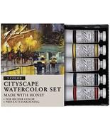 M. Graham Tube Watercolor Paint Cityscape 5-Color Set, 1/2-Ounce - $28.33
