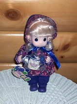 """Precious Moments 11"""" Plush & Vinyl """"JASMINE"""" Garden Doll with Watering Can - $8.79"""