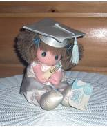 Precious Moments Plush Musical Wind-Up Graduate Gwen in Gown & Cap with ... - $8.69