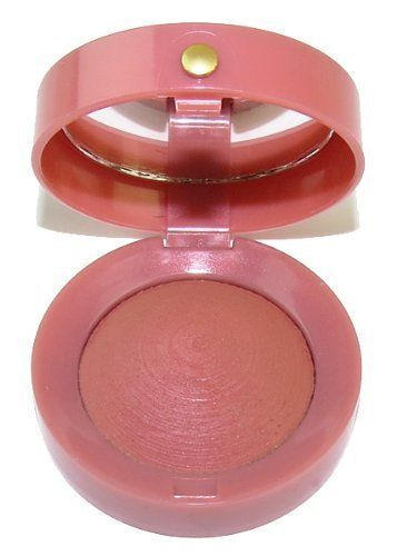Primary image for Bourjois Little Round Pot Blush 55 Rose Aerien Mirror Compact NWOB