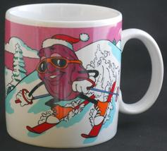 The California Raisins cup mug 1988 CALRAB Applause - $14.95