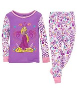 NWT Disney Store  Rapunzel Girls Winter Pajamas... - $14.99