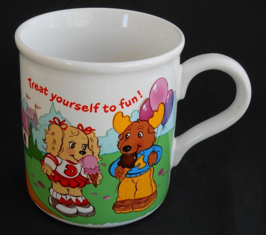 Primary image for The Get Along Gang ~ Treat Yourself To Fun ~ Coffee Cup Mug ~ American Greetings