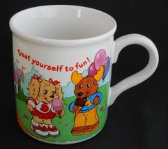 The Get Along Gang ~ Treat Yourself To Fun ~ Coffee Cup Mug ~ American G... - $19.95