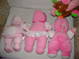 Baby First Rattle Baby Doll, Kids Preferred Doll Set 3 Baby Dolls & A Giraffe image 8