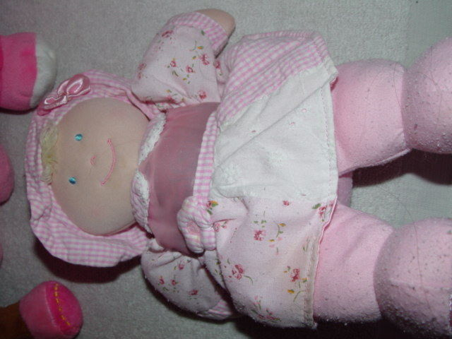 Baby First Rattle Baby Doll, Kids Preferred Doll Set 3 Baby Dolls & A Giraffe image 9