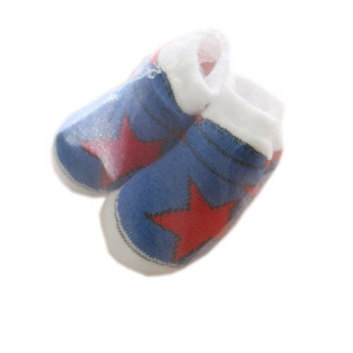 NAVYStarToddler Anti Slip Skid Shocks Baby Stockings Newborn Infant Shoes 2 pack