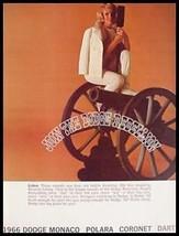 1966 Dodge Brochure- Monaco Polara Dart MINT - $7.71