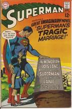 DC Superman #215 Superman's Tragic Marriage Clark Kent Metropolis Action - $9.95