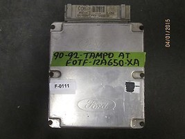 90 91 92 FORD TEMPO ECU/ECM #F0TF-12A650-XA  F-0111 *See item description* - $46.27