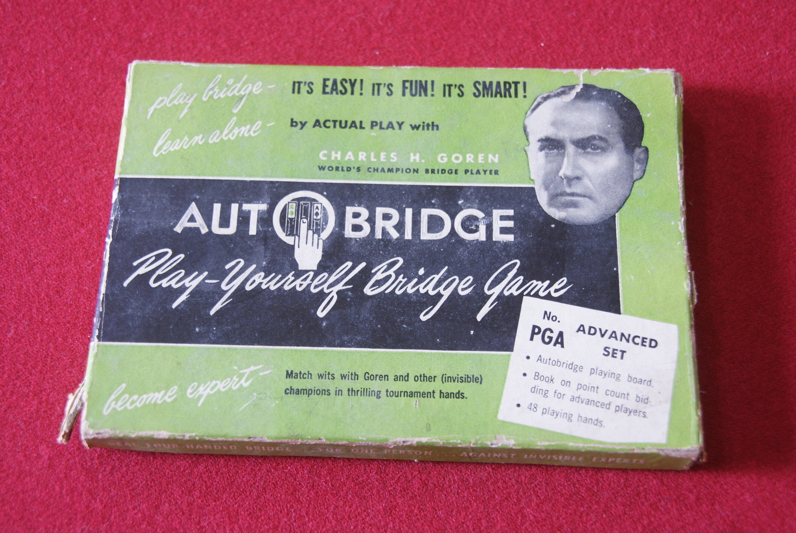 1957 Autobridge Play Yourself Bridge Game By Actual Play