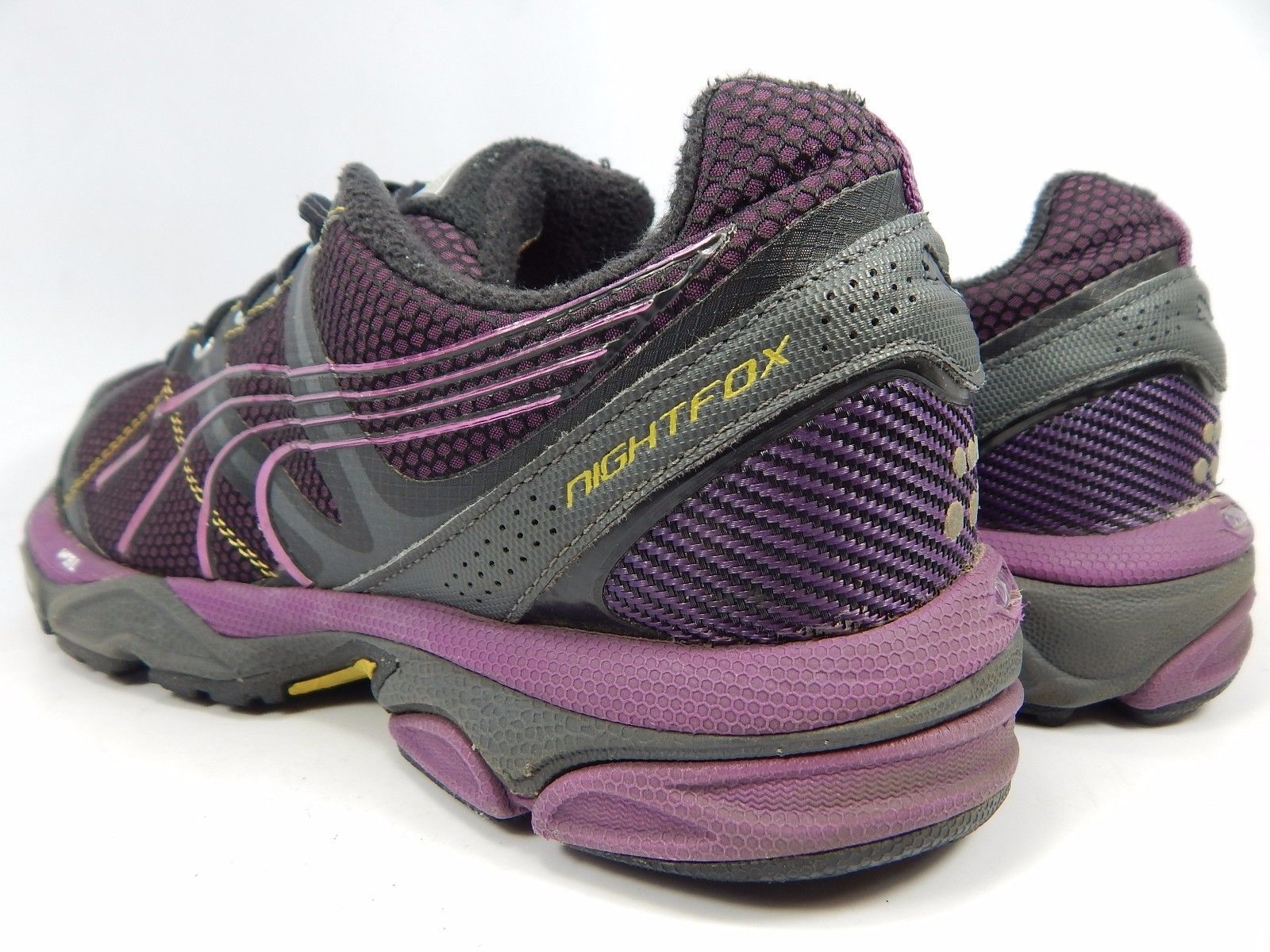 Puma NightFox TR Women's Trail Running Shoes Size US 9 M (B) EU 40 Black Purple