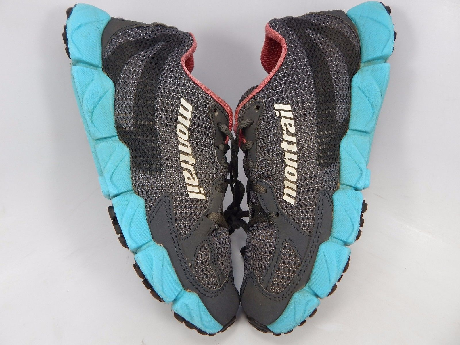 Montrail FluidFlex Women's Trail Running Shoes Size US 6.5 M (B) EU 37.5 Gray