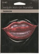 Sequin Iron-on Lips - $3.50