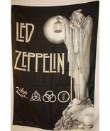 LED ZEPPELIN IV Stairway to Heaven Cloth Fabric... - $12.81