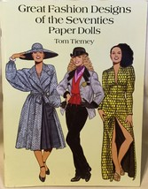 Great Fashion Designs of the Seventies Paper Do... - $11.99