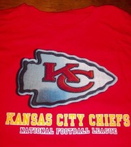 KANSAS CITY CHIEFS NFL FOOTBALL T-Shirt LARGE NEW - $19.80