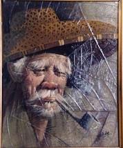 Old Peasant Man By Gris - $200.00