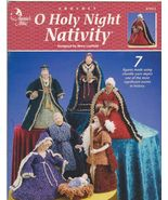 Free Ship Crochet O Holy Night Nativity Mary La... - $12.99
