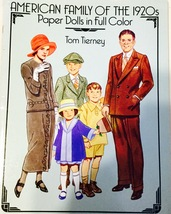 American Family of the 1920's Paper Dolls in Fu... - $11.99