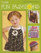 Fun Fashions for Girls, Leisure Arts Clothes Crochet Pattern Booklet 4470 OOP - $4.95