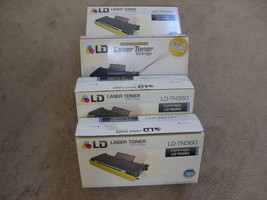 LD-TN360  Laser Toner Cartridge LOT OF 4 Compatible Brother MFC-7840w/74... - $19.99
