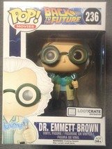 Funko Pop Movies Back to The Future Dr. Emmett Brown Loot Crate Exclusiv... - $15.99