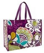Vera Bradley Market Tote Bag in Plum Crazy - $13.91