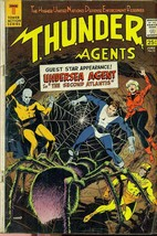 THUNDER AGENTS #13 (1967) Tower Comics Wally Wood art; Undersea Agent st... - $14.84