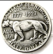 1927 VERMONT Half Dollar Commemorative Battle of Bennington Casted Coin - $11.99