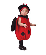 Baby Bug Red & Black Plush Costume. Fits up to 24 months by Fun World™ - $23.95