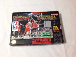 Vintage Super Nintendo Tecmo Super NBA Basketba... - $29.69