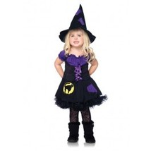 Toddler Size 3T-4T Peasant Style Witch Costume Leg Avenue - $29.50