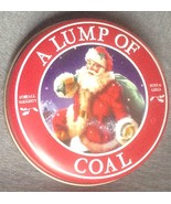 Lump of Coal in Christmas Tin for Naughty Boys and Girls Gag Gift Santa ... - $3.99