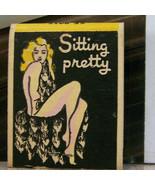 Vintage Matchbook M5 Washington Seattle Wood's Lunch Pomme Lounge Sittin... - $53.99
