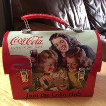 Coca-Cola Tin Lunch Box Join the Coke Club - $20.00
