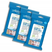Dr. Brown's Pacifier and Bottle Wipes, 40 Count, 3-Piece - $53.28
