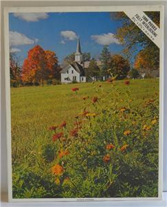 Vintage Whitman ~ Waupaca, Wisconsin 1000 PC Puzzle ~ New Sealed