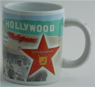 WALGREENS 4000th Store Van Nuys California Coffee Cup Mug Advertising Hollywood