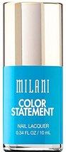 Milani Color Statement 24 Water Front Nail Laquer Nail Polish 0.34 oz 10 ml - $10.99