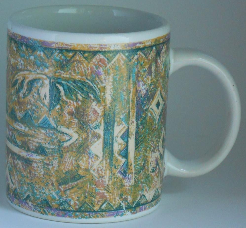 WESTWOOD Contempo Marble Coffee Cup Mug 1994