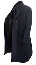 Sherlock Holmes Benedict Cumberbatch Black Wool Trench Coat image 2