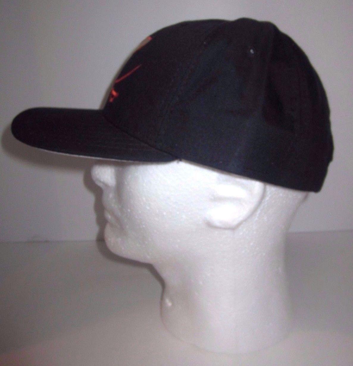 0856e5166a048 Virginia Cavaliers Hat - Vintage New Era Dupont Visor- Snapback - Made In  USA