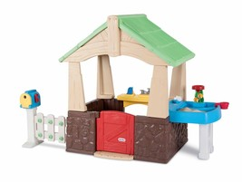 Little Tikes Deluxe Home And Garden Playhouse Pretendplay New Outdoor Fu... - $329.99